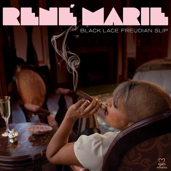 Black Lace Freudian Slip